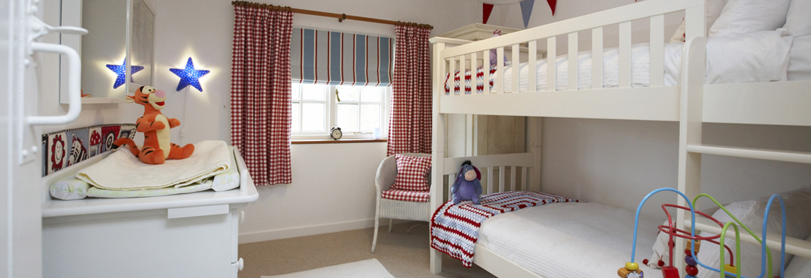 The Red, White and Blue Childrens Bedroom